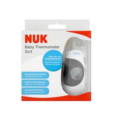 Termometro Digital 2 en 1 (frente y oidos) NUK
