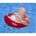 Flotador bebes homologado swimtrainer rojo de 3 meses a 4 años