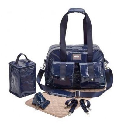 Bolso maternal con accesorios Monaco Navy