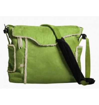 Bolso maternal Wallaboo Nore con accesorios Verde