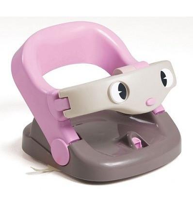 Asiento baño giratorio Rosa con juegos